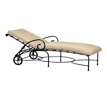Fer forg maroc for Chaise longue fer forge