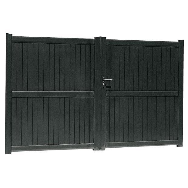 portail battant aluminium portail aluminium sur mesure portail alu coulissant. Black Bedroom Furniture Sets. Home Design Ideas