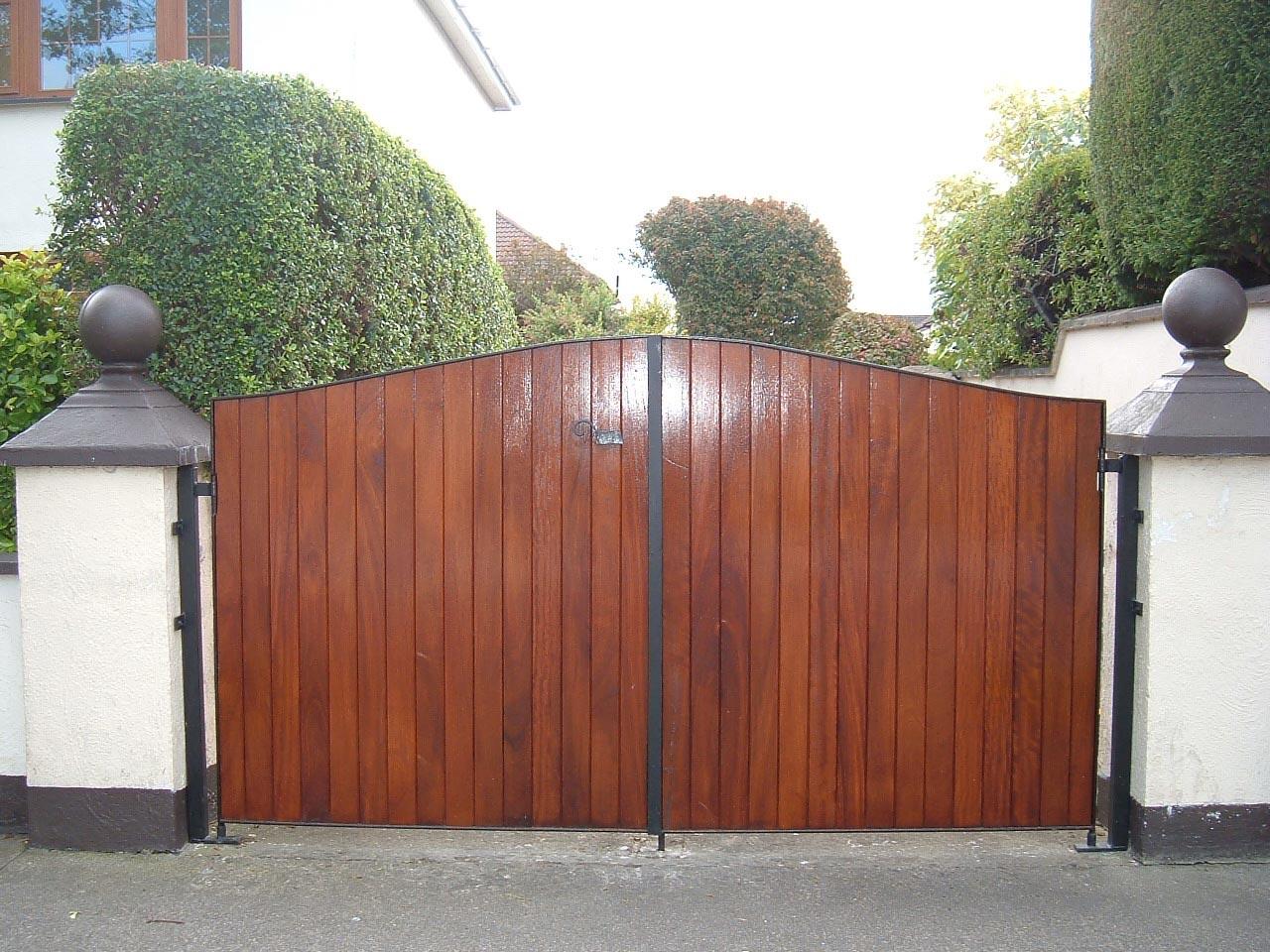 Portail bois pas cher for Achat portail