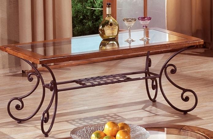 Table Salon Fer Forgé