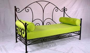 fabricant canap en fer forg si ge banc banquette magasin de meuble vente en ligne. Black Bedroom Furniture Sets. Home Design Ideas