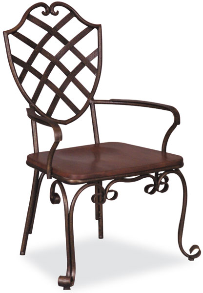 Muebles hierro forjado muebles jard n escalera - Muebles de hierro forjado para jardin ...
