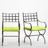 Meuble Table Moderne Chaise Fer Forge Et Bois