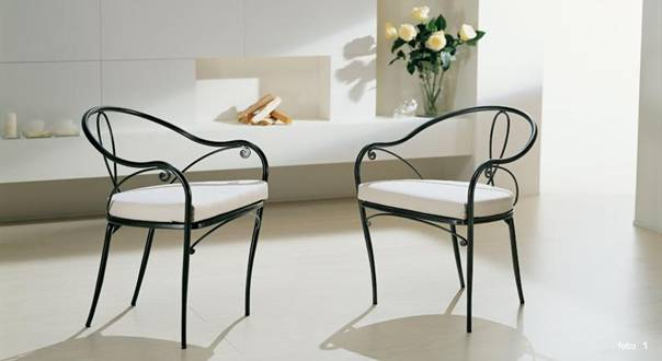 salon de jardin fer forge la redoute. Black Bedroom Furniture Sets. Home Design Ideas
