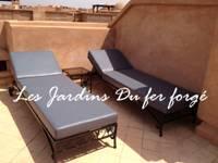 mobilier de jardin en fer forg canap meubles d coration table de salle manger lit. Black Bedroom Furniture Sets. Home Design Ideas