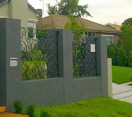 Grille cl ture en fer forg ext rieur jardin villa maison pas cher fabricant maroc for Fabricant maison mobile