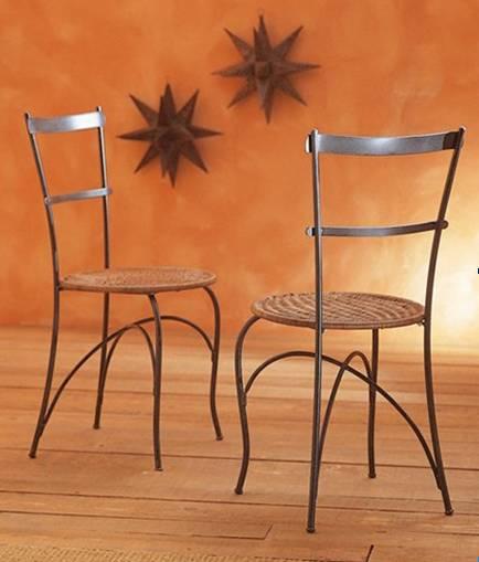 Chaise En Fer Forg De Jardin. Good Chaise De Jardin Pliante Image ...