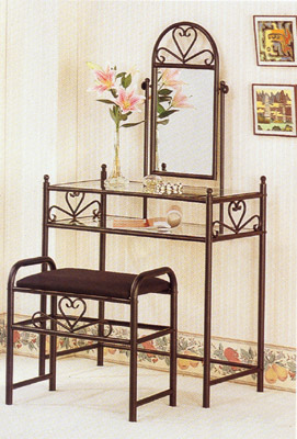 commode fer forge. Black Bedroom Furniture Sets. Home Design Ideas