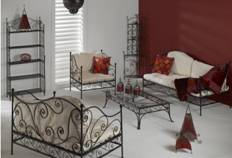 wrought iron garden furniture. Black Bedroom Furniture Sets. Home Design Ideas