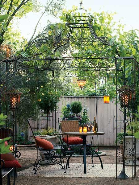 pergola kiosque jardin - Ecosia