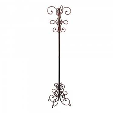 Porte manteaux en fer forg wrought iron coat rack in ferro battuto appendiabiti - Porte manteau fer forge conforama ...