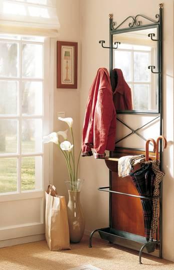 wrought iron coat rack perchero de hierro forjado. Black Bedroom Furniture Sets. Home Design Ideas