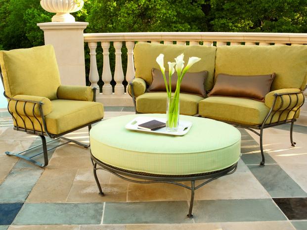 Salon de jardin en fer forge en promotion pas cher decoration jardin maroc - Decoration de jardin en fer forge ...