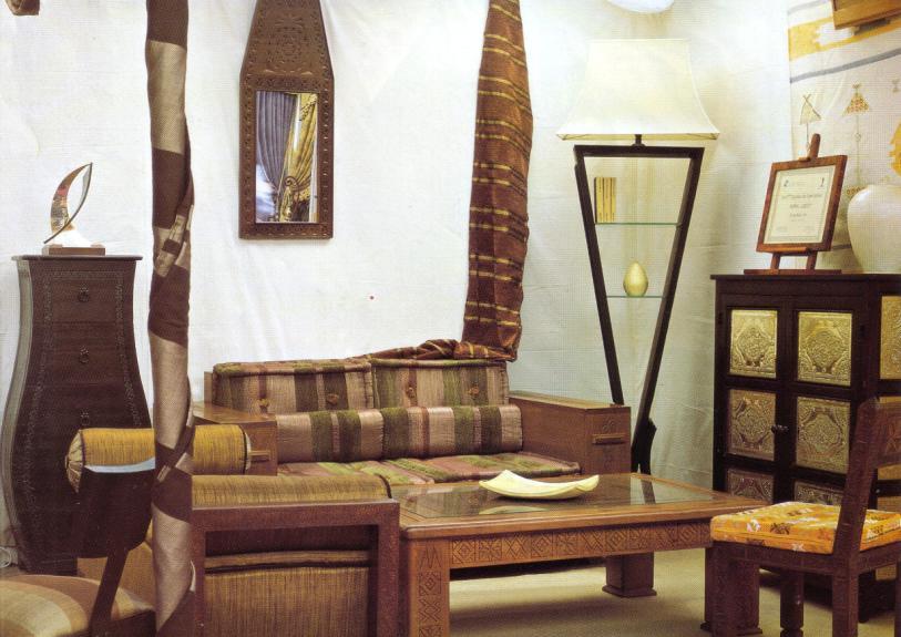 Table jardin decoration jardin deco interieur for Salon marocain casablanca