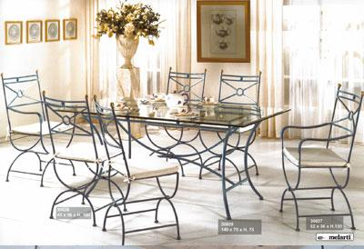 Boutique mobilier contemporain salle a manger fer forg for Table et chaise de salle a manger en fer forge