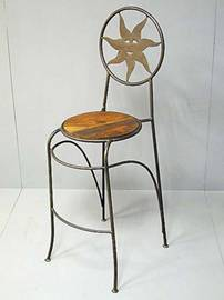 tabouret bar fer forge. Black Bedroom Furniture Sets. Home Design Ideas