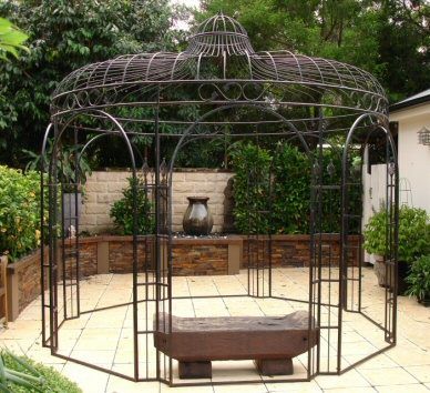pergola en fer forg tonnelle abris de jardin gloriette en acier pergola en fer forg prgola de. Black Bedroom Furniture Sets. Home Design Ideas