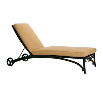 Transat en fer forg chaise longue bain de soleil for Chaise longue fer forge occasion