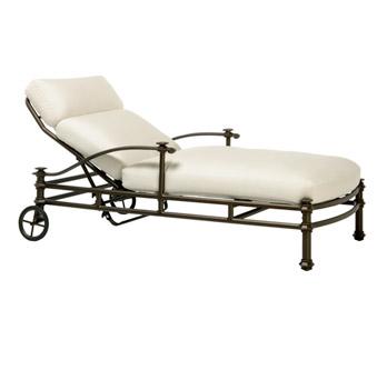 transat en fer forg chaise longue bain de soleil. Black Bedroom Furniture Sets. Home Design Ideas
