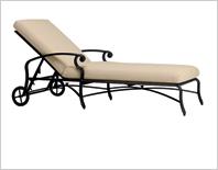 transat en fer forg chaise longue bain de soleil pas cher promotion. Black Bedroom Furniture Sets. Home Design Ideas