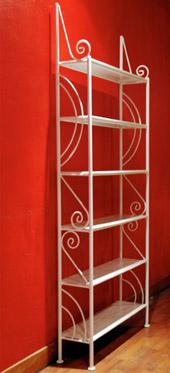 etagere fer forge. Black Bedroom Furniture Sets. Home Design Ideas
