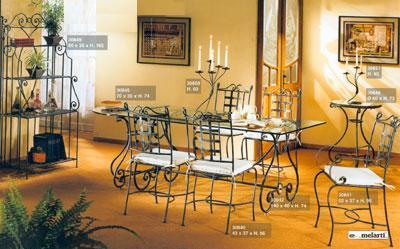 Achat meuble contemporain salle a manger fer forg for Salle a manger fer forge